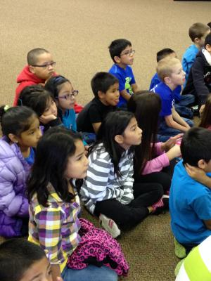 Storytelling at the Amarillo Public Library