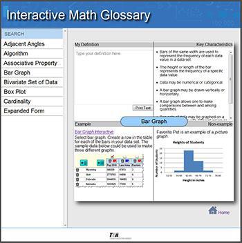 Interactive Math Glossary Thumbnail