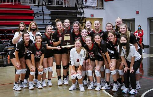 Volleyball State Academic State Champs