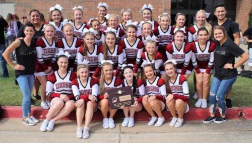 2018 Cheer Regional Champions