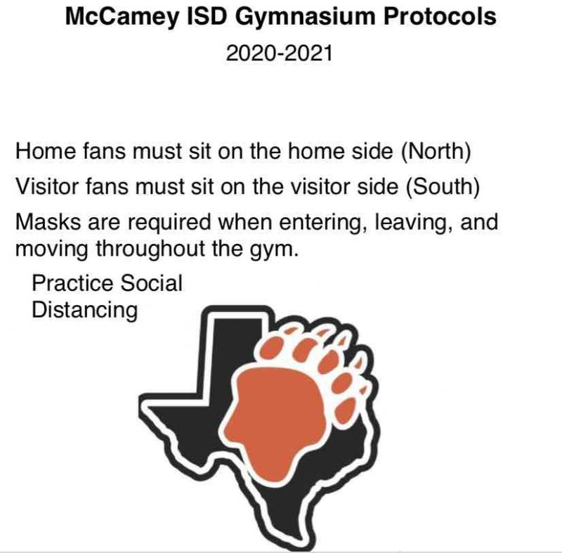 MCISD GYM PROTOCOLS