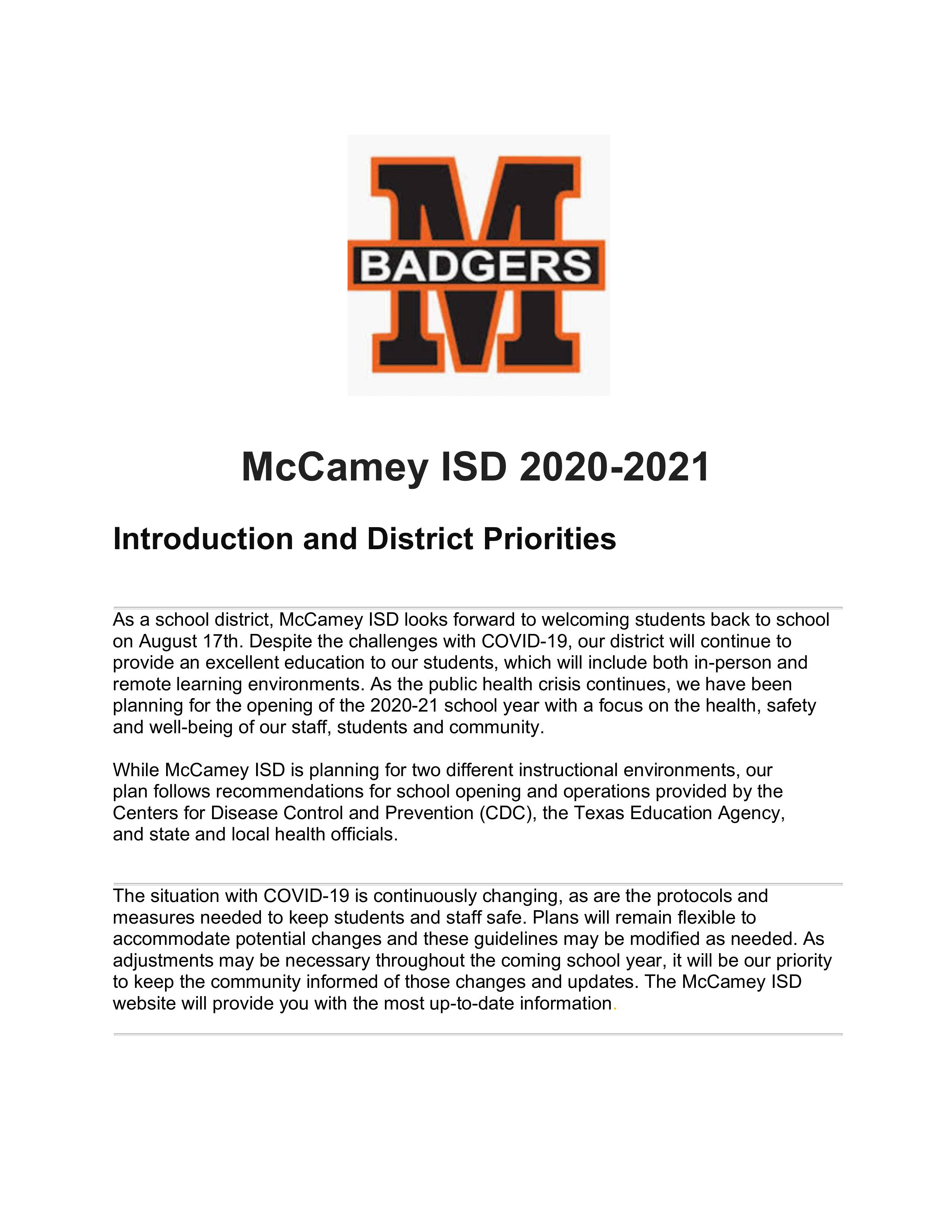 MCISD Reopening Policy Pg1