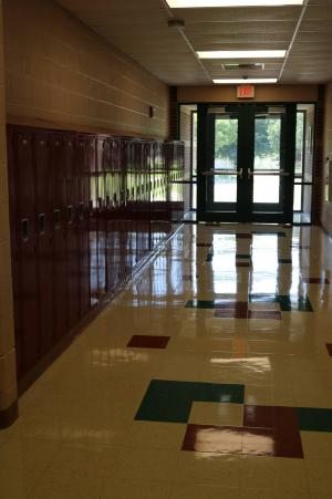 Elementary Hallway