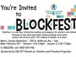 Thumbnail Image for Article Blockfest on Thursday!!