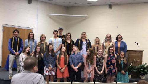 NHS Induction Ceremony Night 5-1-2019