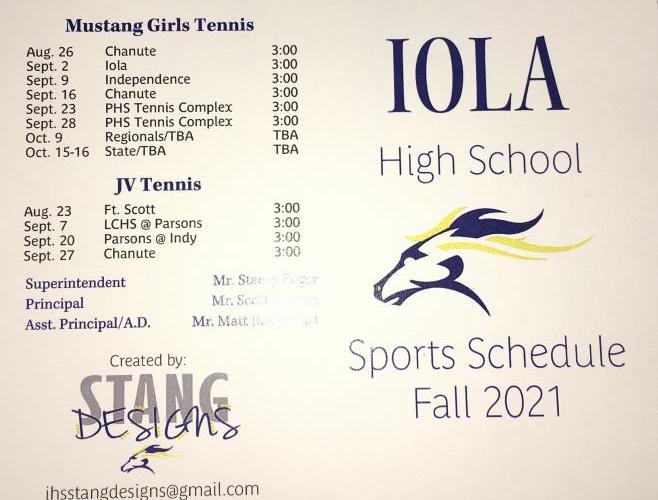 Fillies Tennis 2021