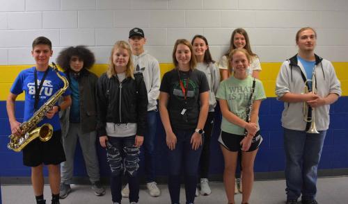 District Honors Choir Members Fall 2020
