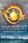Image that corresponds to Divergent trilogy, by Veronica Roth