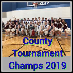 Stephens County Tournament Champions 2019!!