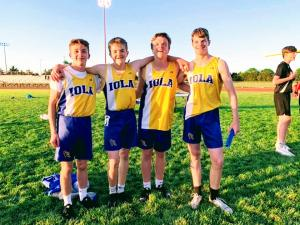 Medley Champions, Kyser, Cole, Corltand, Mathes