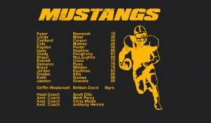 2020 Football Roster