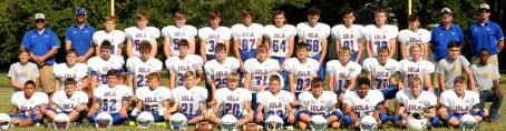 2021 IMS Mustangs Football Team