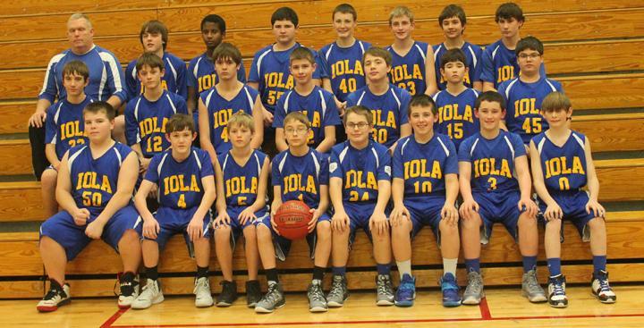 Iola Middle School Boys Basketball