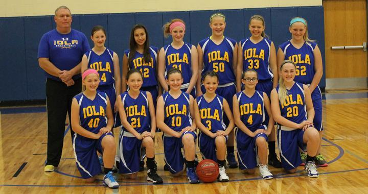 Iola Middle School Girls Basketball