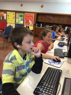 We work on Lexia to improve our skills. Lexia makes learning fun!