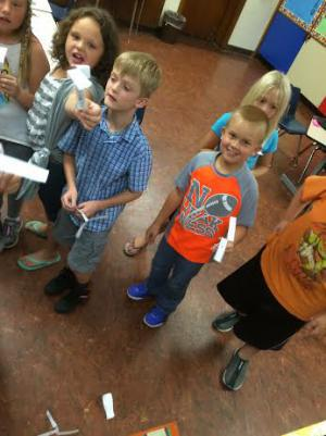 Science experiments provide fun educational opportunities.