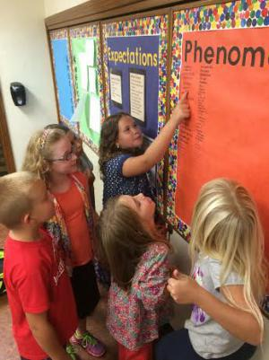 We learn phenomenal words in third grade.
