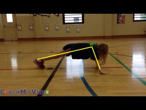 Technology and Math Integration in PE - Push-up Angles