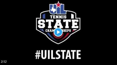 UIL State Tennis Video