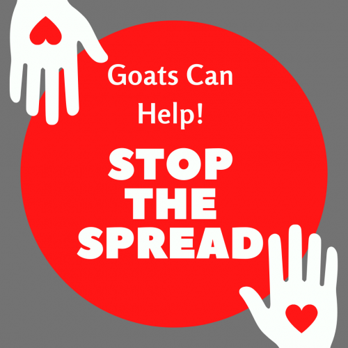 Goats can help stop the spread