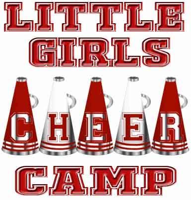 Little Girls Cheer Camp