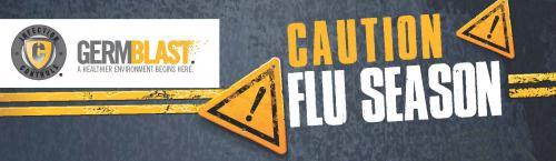 GermBlast Caution Flu Season