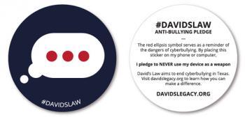 David's Law Anti-Bullying Pledge