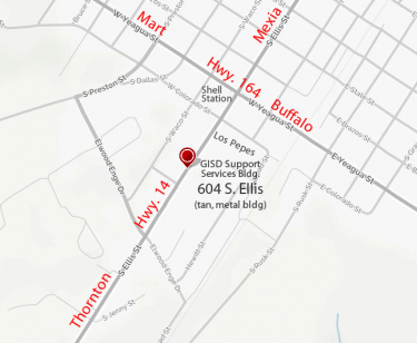 Map showing where IdentoGO office is located.