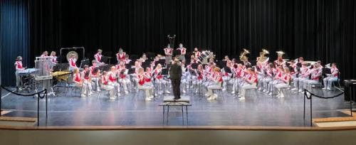 GHS Band on Stage