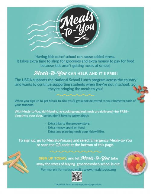 Meals-to-You Flyer page 2
