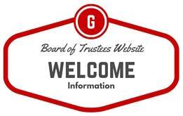 Board of Trustees Website Welcome Information