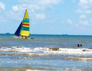 Sailboat - Galveston Bay