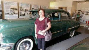 two 49ers: me & 1949 Cadillac