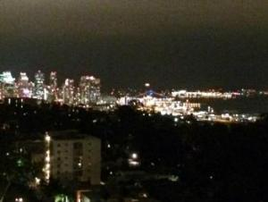 Night Skyline - San Diego, California