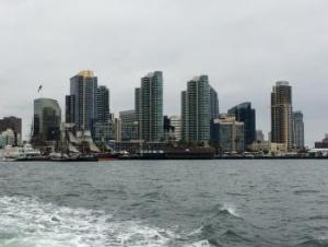 San Diego from a boat