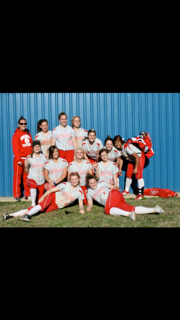 Varsity softball 2012...made playoffs all 4 years in high school!!!