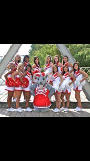 My varsity cheer girls 2011-12