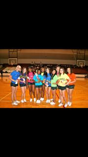 Senior Cheerleaders 2012
