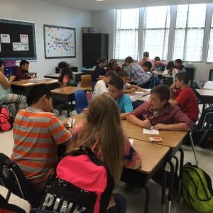 6th Grade Advanced Math Integer Battle