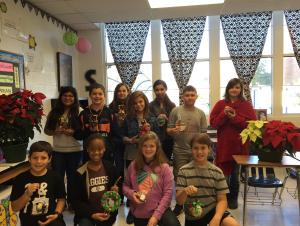 6th Grade Advanced Math Ornament Contest Honorable Mention