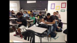 10th Grade PreAP English II students participated in National Novel Writing -  97 new authors at DHS!