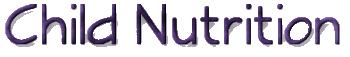 Child Nutrtion