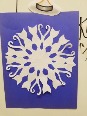 Snowflake competition 2016-2017 3rd place