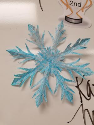 Snowflake competition 2016-2017 2nd place