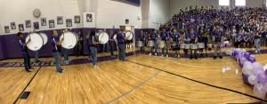 Pep Rally-Drumline