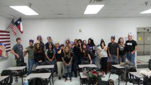 Seniors 2016 3rd period ~ silly pic!