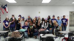 Seniors 2016 2nd period ~ silly pic!