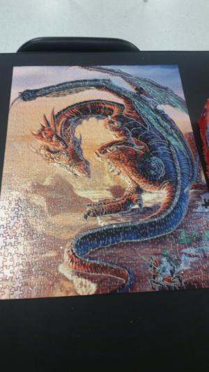 2nd puzzle completed even with a few pieces missing! 2015-16