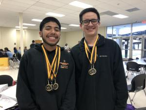 UIL Accounting 2018-2019- Nederland 1st Place - Brayan Del Angel and Brayant Gonzalez
