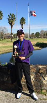 1st place medalist Vidor Tournament
